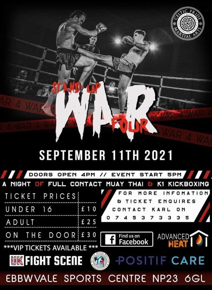 Stand up war Sept 11th